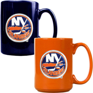 New York Islanders 2 Piece Set Ceramic Mug -