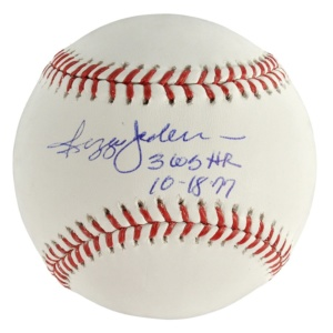 Reggie Jackson Authentic Autographed Baseball