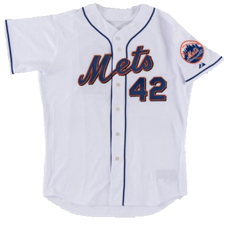 "2007 ""Jackie Robinson Day"" Willie Randolph Jersey"