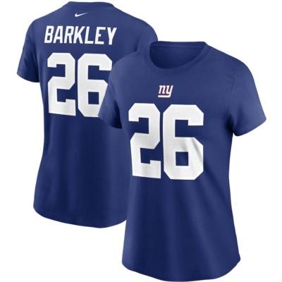 Women's Nike Saquon Barkley New York Giants T-Shirt