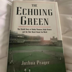 The Echoing Green Joshua Prager (Author)