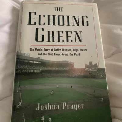 The Echoing Green Joshua Prager (Author)