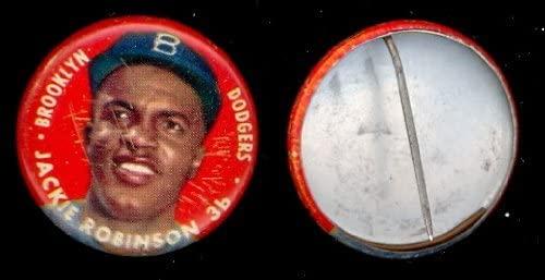1956 Topps Pin- Jackie Robinson