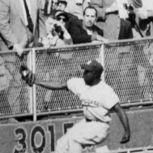 Sandy Amoros Famous 1955 Catch - -