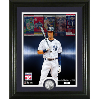 Derek Jeter Hall of Fame Silver Coin Photo Mint