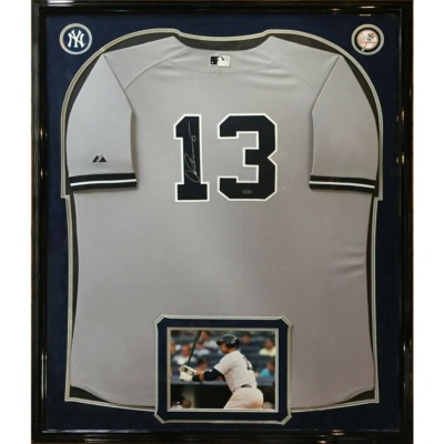 Alex Rodriguez Signed Jersey -