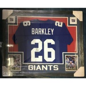 Saquon Barkley Autographed Jersey -