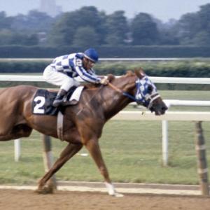 Secretariat wins Triple Crown
