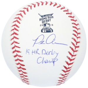 Pete Alonso Autographed 2019 MLB Home Run Derby Baseball