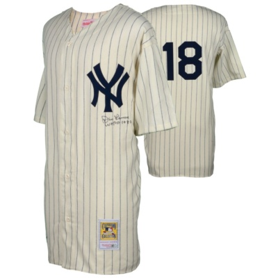 Don Larsen Autographed Authentic Jersey