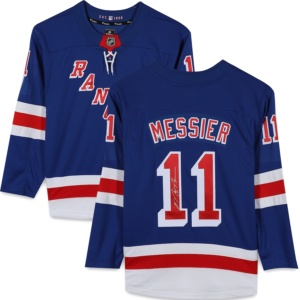 Mark Messier Autographed Jersey