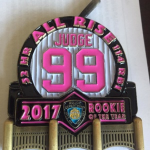 AARON JUDGE-2017 ROOKIE OF YEAR