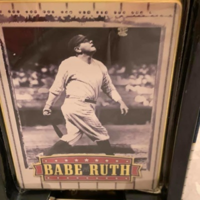 METALLIC IMPRESSIONS OF BABE RUTH!!