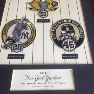 NEW YORK YANKEES 2015 AUTHENTIC PATCH COLLECTION LEGACY CLUB POSADA PETTITE WILLIAMS NYY