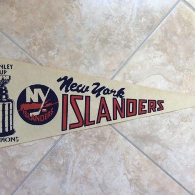 NY ISLANDERS PENNANT