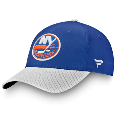 FanIslanders Royal 2020 Stanley Cup Playoffs Adjustable Hat