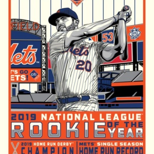 Pete Alonso 2019 Rookie of the Year Serigraph