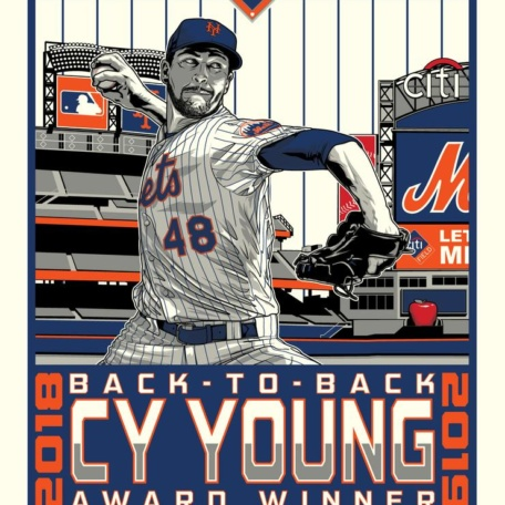 Jacob DeGrom Back To Back Cy Young