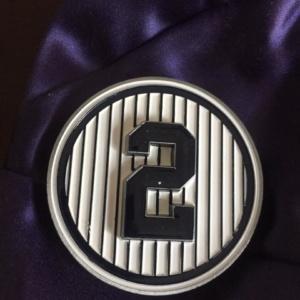 derek jeter-monument park coin