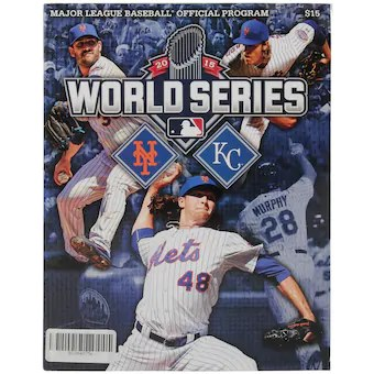 New York Mets 2015 World Series Program