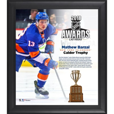 Mathew Barzal 2018 NHL Calder Trophy Winner