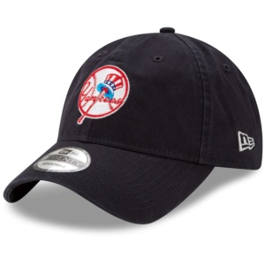 New Era, New York Yankees Cooperstown Collection Core Classic Logo 9TWENTY, Adjustable Hat