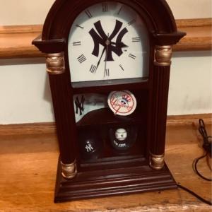 New York Yankee Mantle Clock