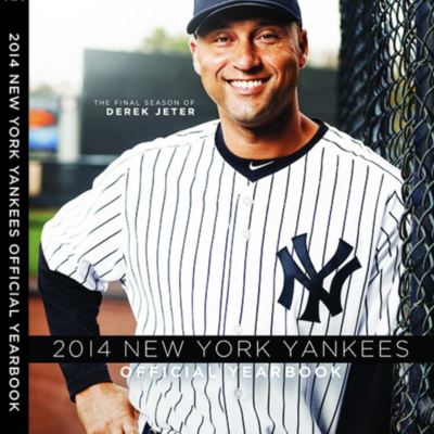 NEW YORK YANKEES OFFICIAL 2014 YEARBOOK-final season of Derek Jeter