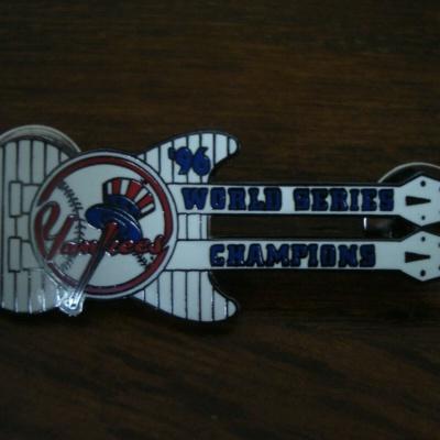 New York Yankees Lapel Guitar Pin .