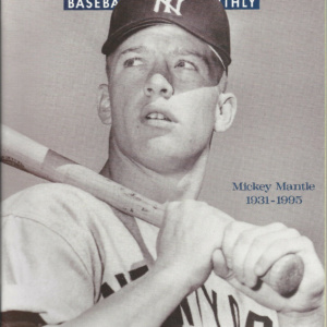Mickey Mantle on Cover Beckett