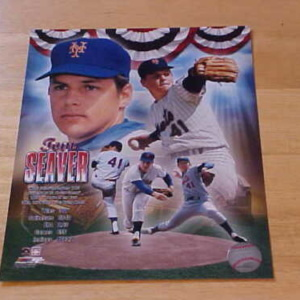 Tom Seaver Mets Portrait
