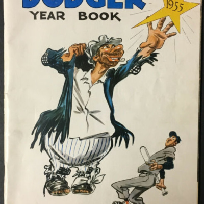 1955 Brooklyn Dodger Year Book World Series Champs