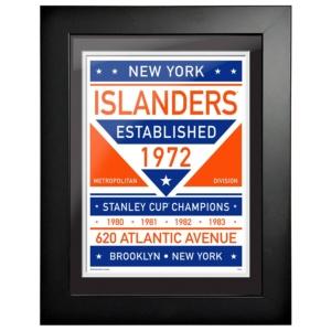 New York Islanders Framed Artwork