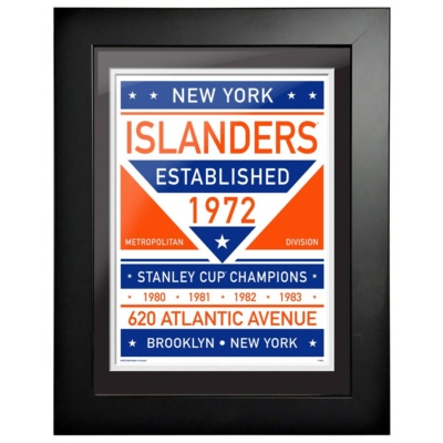 New York Islanders Framed Artwork