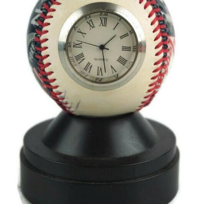 Yankees World Series Commemorative Baseball Clock