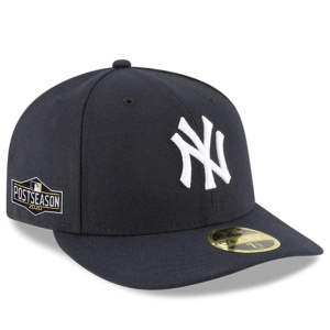New York Yankees 2020 Postseason Side Patch Low Profile Fitted Hat