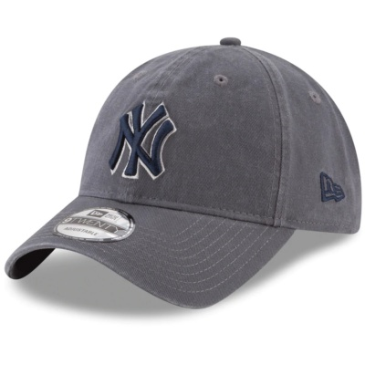 New York Yankees 9TWENTY Adjustable Hat - Graphite