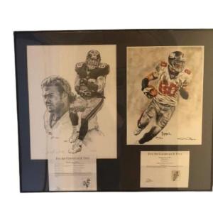 NY Giants (Jeremy Shockey signed artist prints