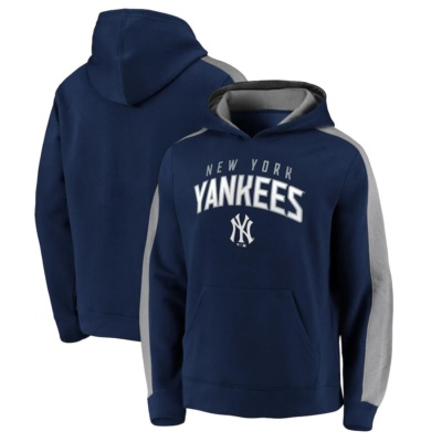 Fanatics Branded New York Yankees Navy Gametime Arch Pullover Hoodie
