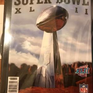 NFL 2008 Super Bowl XLII Collectible Souvenir Game Program
