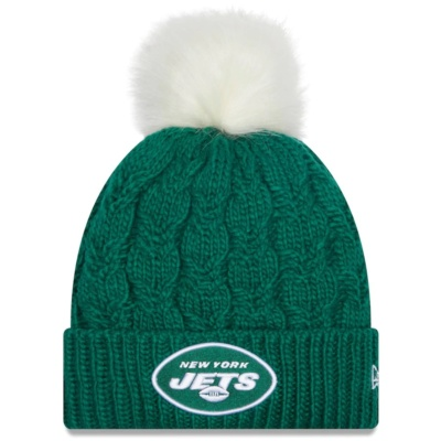 New York Jets New Era Women's Flurry Cuffed Knit Hat