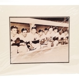 1961 NY Yankees Starting Line Up Photo Print