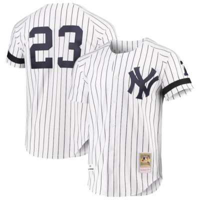 Don Mattingly New York Yankees Mitchell & Ness Cooperstown Collection Authentic Jersey