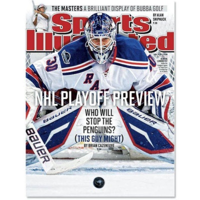 NY Rangers goalie Henrik Lundqvist on Sports Illustrated NHL playoff preview cover