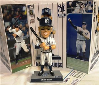 "2018 NEW YORK YANKEES AARON JUDGE ""52 HR"" BOBBLEHEAD"