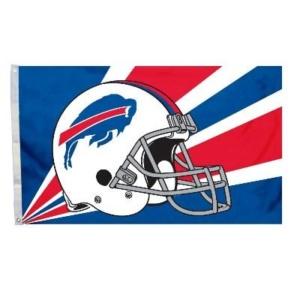 Buffalo-Bills Helmet Flag