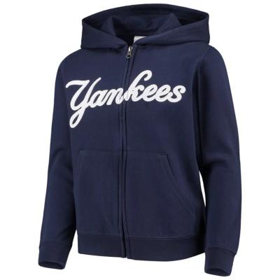Youth New York Yankees Full-Zip Hoodie
