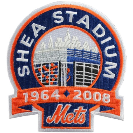 "New York Mets ""Shea Stadium"" Closing Jersey Patch"