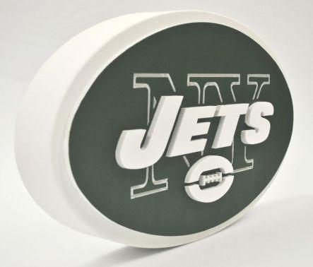NY JETS FOAM SIGN