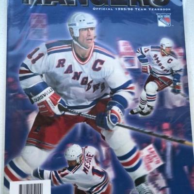 NY RANGERS YEARBOOK-1995-1996
